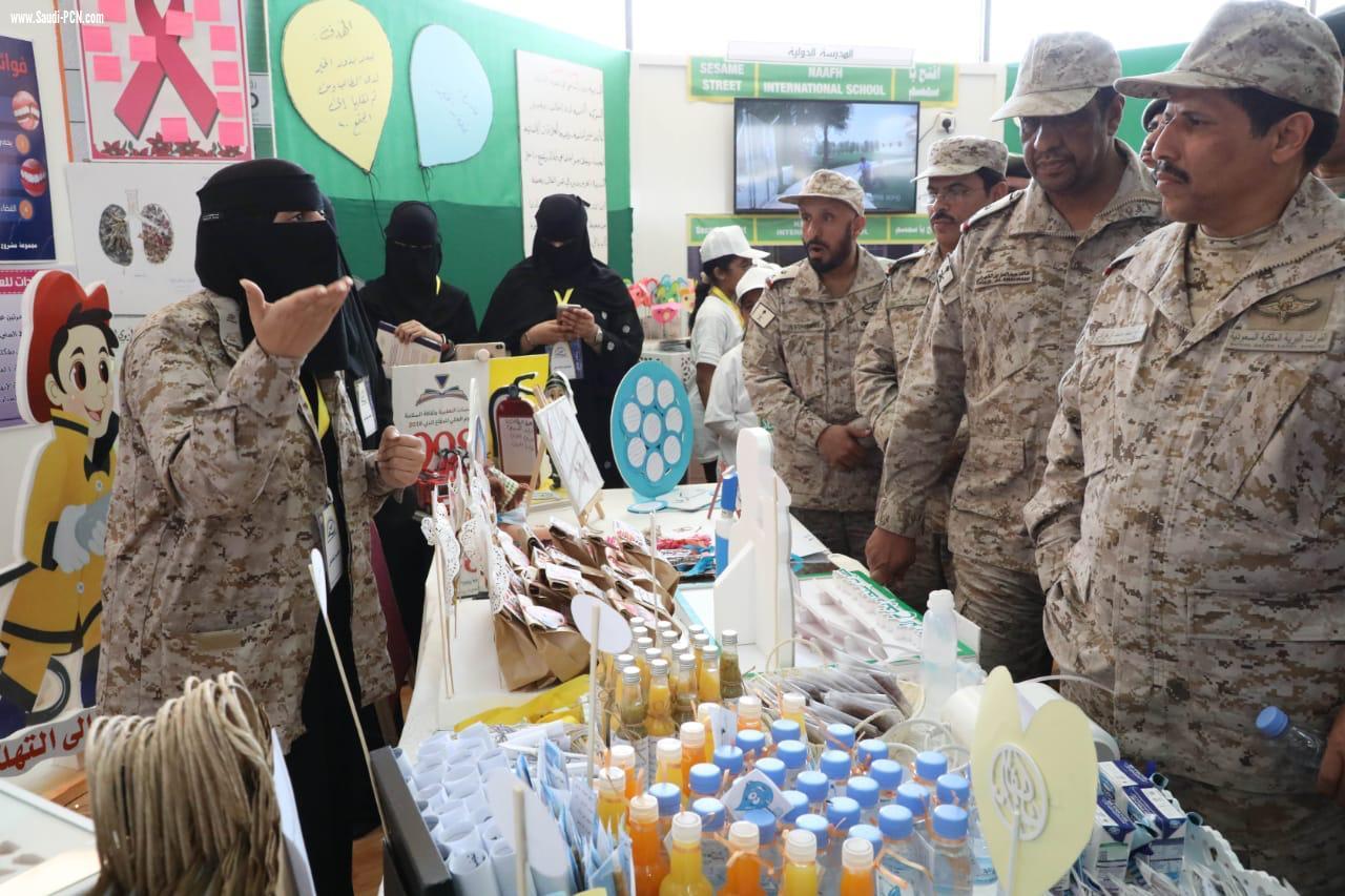 المدينة الصحية بمدينة الملك خالد العسكرية تختتم فعاليات الملتقى الثاني شبكة نادي الصحافة السعودي